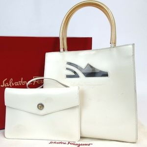 Authentic Salvatore Ferragamo DW-216239 Handbag